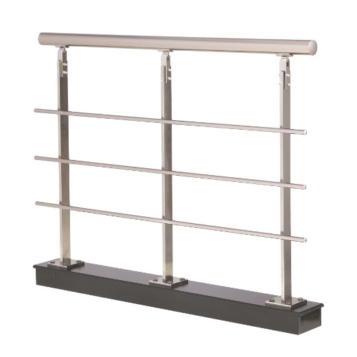 Sm06004 columna barandilla aluminio inox 830 accesorios barandillas - Barandillas de aluminio ...